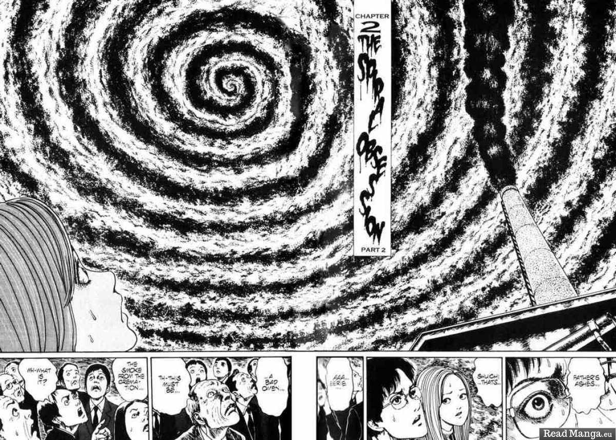spirale, uzumaki, junji ito