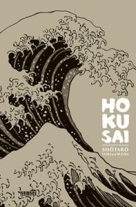 couverture manga hokusai kana