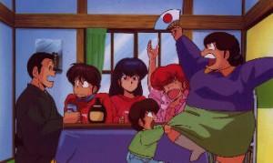alcool et manga maison ikkoku