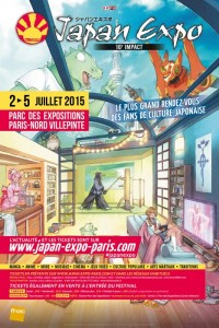 affiche Japan Expo 2015