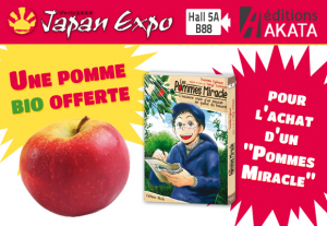 les pommes miracle Akata culture bio