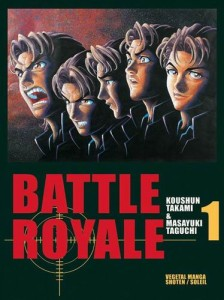 folie maladie mentale dans les manga survival game Battle royale