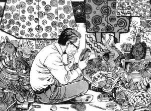 folie maladie mentale dans les manga junji ito spirale uzumaki tonkam