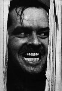 folie maladie mentale dans les manga Jack Nicholson Shining psychopathe