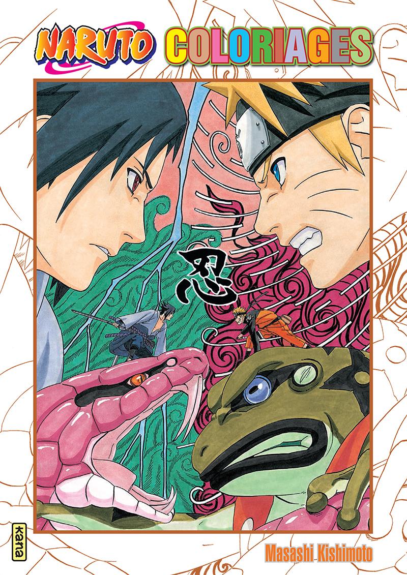 No l 2015 les cadeaux autour du manga mangalerie - Image a colorier naruto ...