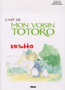 l'art de mon voisin Totoro Hayao Miyazaki Glénat artbook illustration studio Ghibli