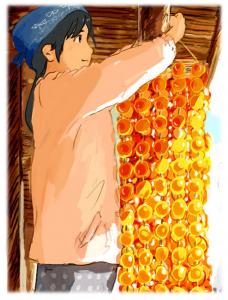 manga sankarea anime fleur flower tree nature Tsukasa Hojo minuscule totoro ghibli les femmes du zodiaque miss hokusai