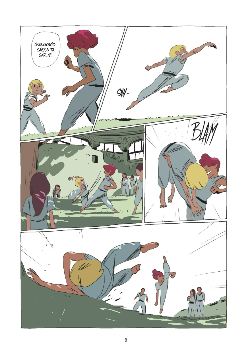 Lastman page volume 1