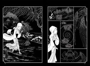 Le voleur d'estampes Glénat manga français Camille Moulin Dupré Hokusai art Japon traditionnel