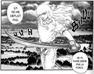 Berserk Kentaro Miura manga Guts Griffith