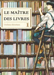 Komikku Le maître des livres