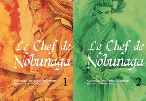 gourmandise manga le chef de Nobunaga les sept péchés capitaux
