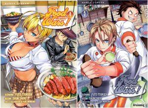 gourmandise manga food wars les sept péchés capitaux