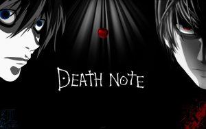 manga justice Death note kana