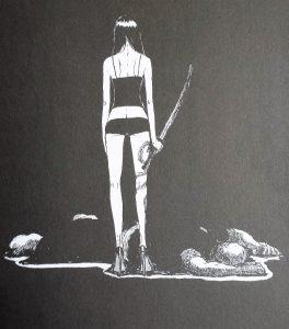 ryuko eldo yoshimizu lézard noir