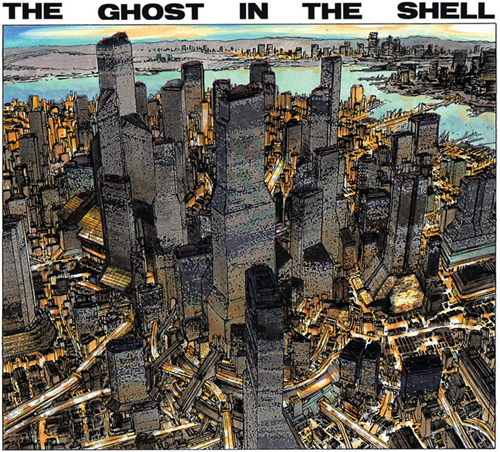 Newport City manga ghost in the shell