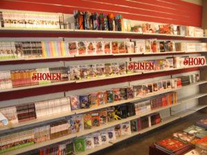 40 ans librairie manga